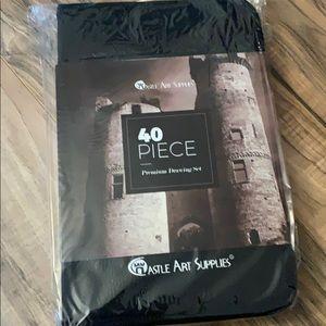 Other - Castle art supplies 40 piece set
